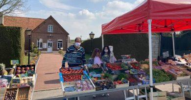 Le marché de Pihem en images